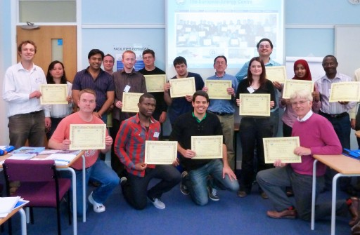 Edinburgh London Birmingham Manchester energy resources management course