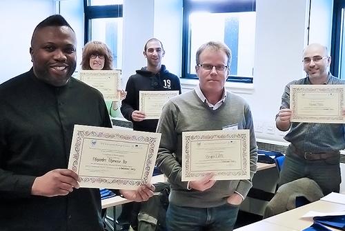 ECT Galileo Master Certificate Achievers