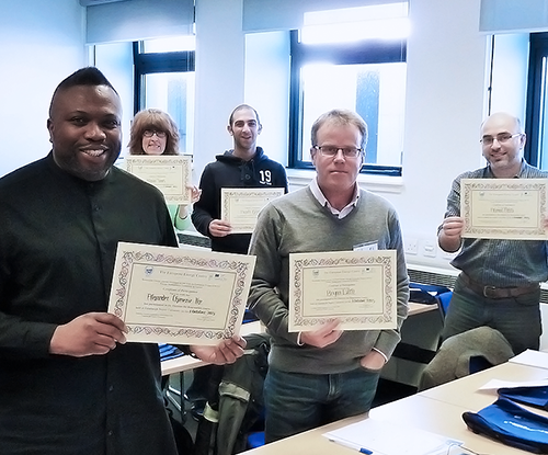 ECT Galileo Master Certificate Achievers