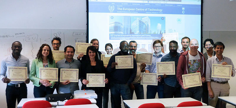 The ECT runs courses in Engineering, Management and Finance across the UK, in London, Edinburgh, Manchester
